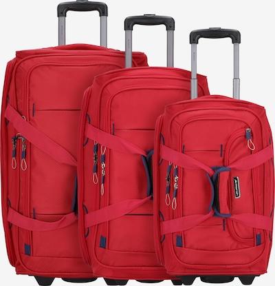 March15 Trading Ensemble de bagages 'Gogobag' en rouge, Vue avec produit