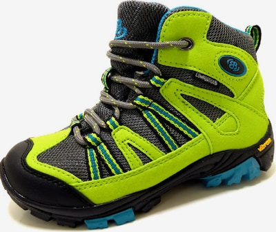Brütting Boots in de kleur Spar / Lichtgroen, Productweergave