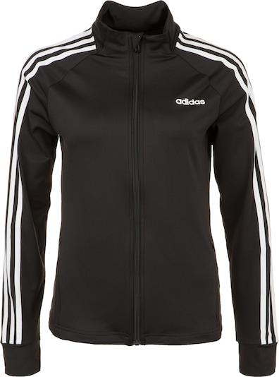 ADIDAS PERFORMANCE Sportjas in de kleur Zwart / Wit, Productweergave