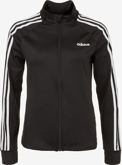 ADIDAS PERFORMANCE Trainingsjacke in schwarz / weiß, Produktansicht