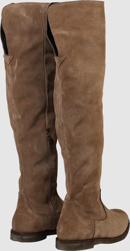 Ca Shott | Overknee-Stiefel aus Schuhe Leder Schuhe Gut getragene Schuhe aus 61e186