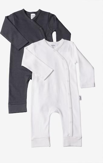 LILIPUT Jumpsuit in anthrazit / weiß, Produktansicht