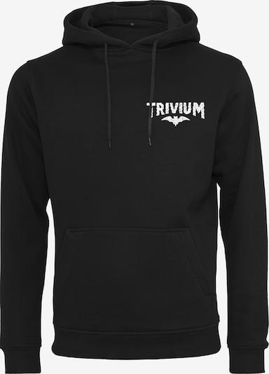 Mister Tee Hoody 'Trivium Eye Ghost' in schwarz / weiß: Frontalansicht