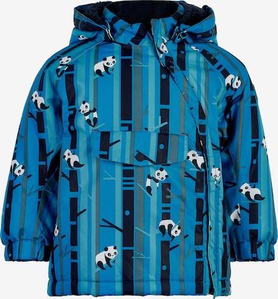 COLOR KIDS Jacke in himmelblau / schwarz / weiß, Produktansicht