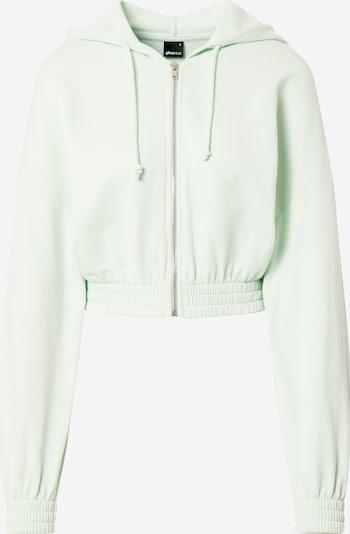 Gina Tricot Sweatjacke 'Abbie' in pastellgrün, Produktansicht