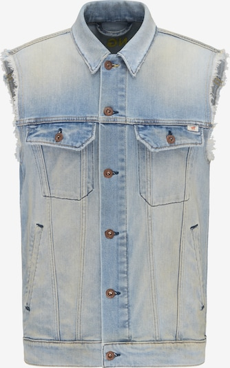 MUSTANG Jacke 'New York Vest' in hellblau: Frontalansicht