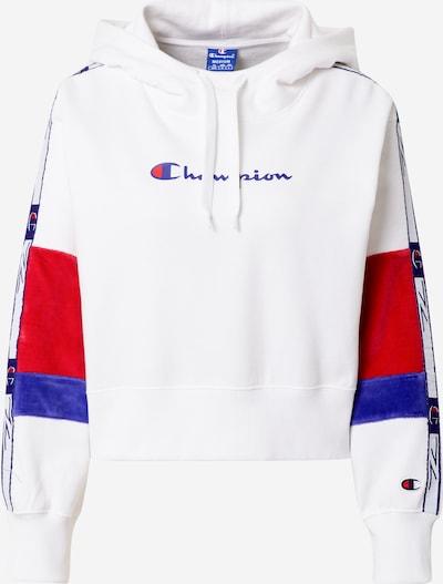Champion Authentic Athletic Apparel Sweatshirt in blau / rot / weiß, Produktansicht