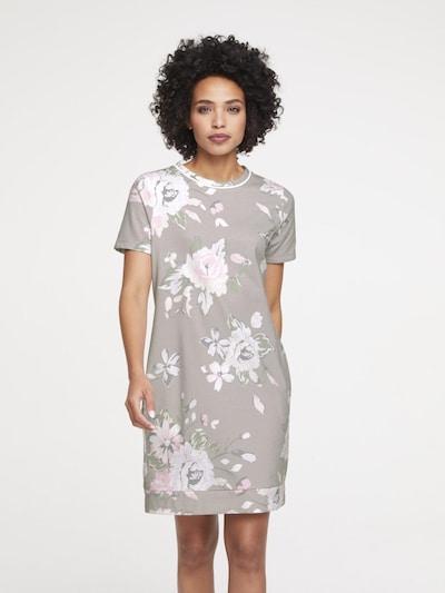 heine Šaty - šedá / mix barev / pastelově růžová / bílá, Model/ka