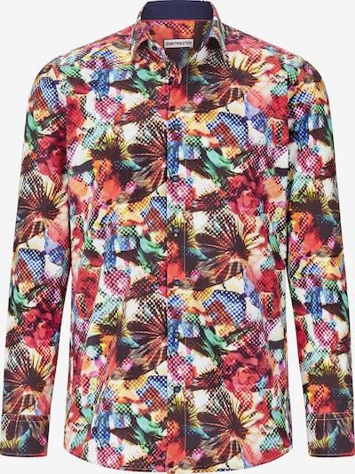 Shirtmaster Chemise en mélange de couleurs, Vue avec produit