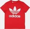 ADIDAS ORIGINALS T-Shirt 'Trefoil' in rot