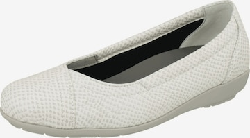 Natural Feet Ballet Flats 'Collien' in White