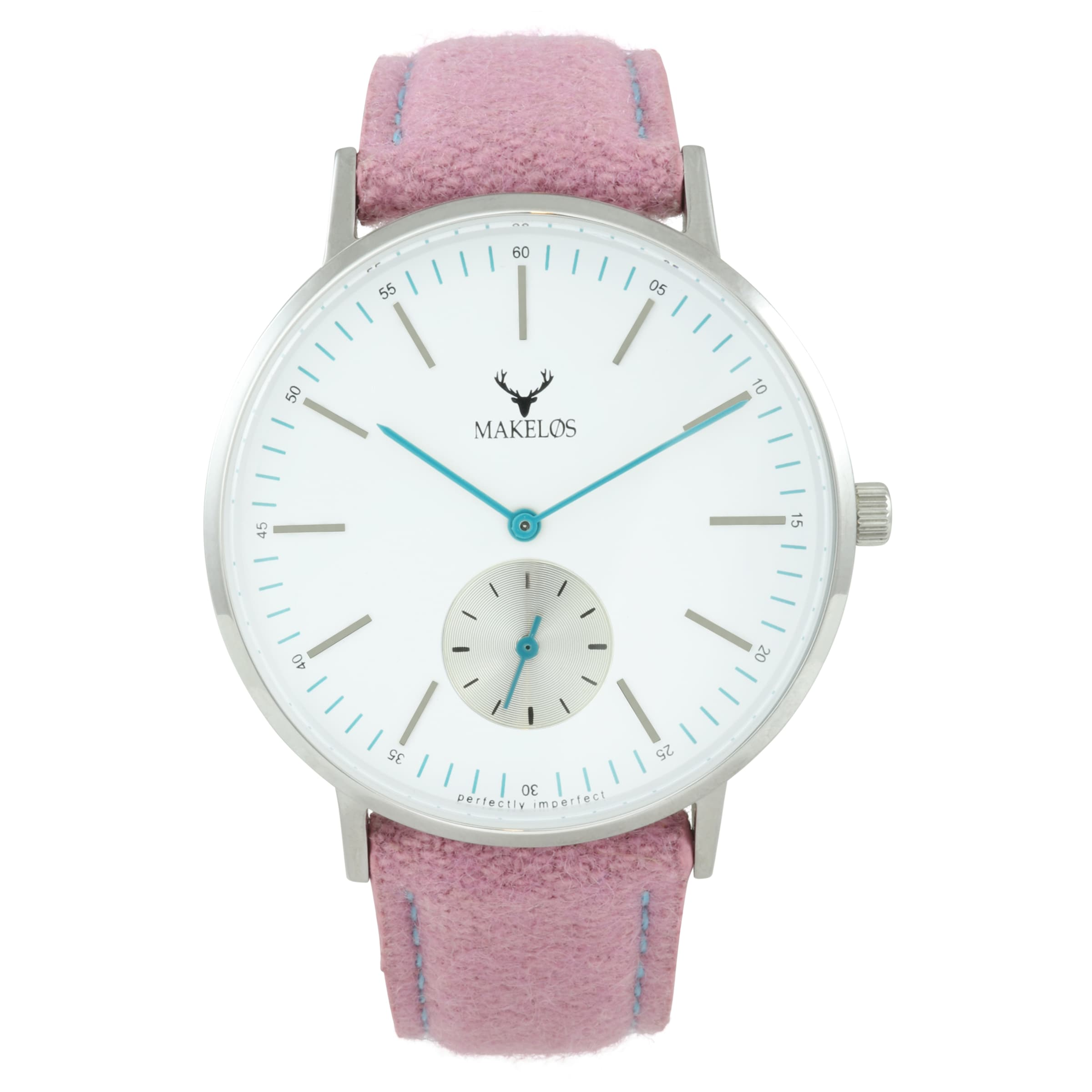 Günstig Kaufen Shop Zuverlässige Online MAKELØS Armbanduhr 'SØLV LYSE' mit Filzband Blick Zu Verkaufen Verkaufspreise Footlocker Online VyKDGeh3y