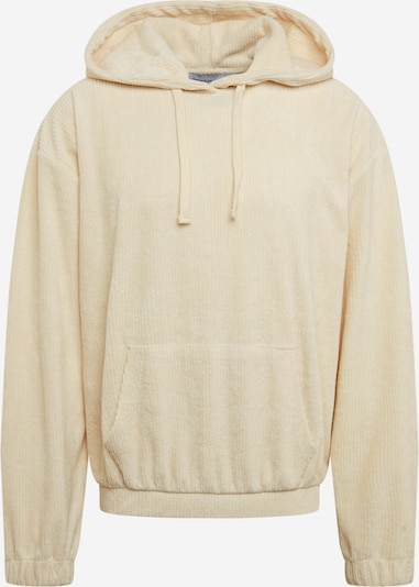 NU-IN Sweatshirt 'Oversized Towelling Hoodie' in creme, Produktansicht
