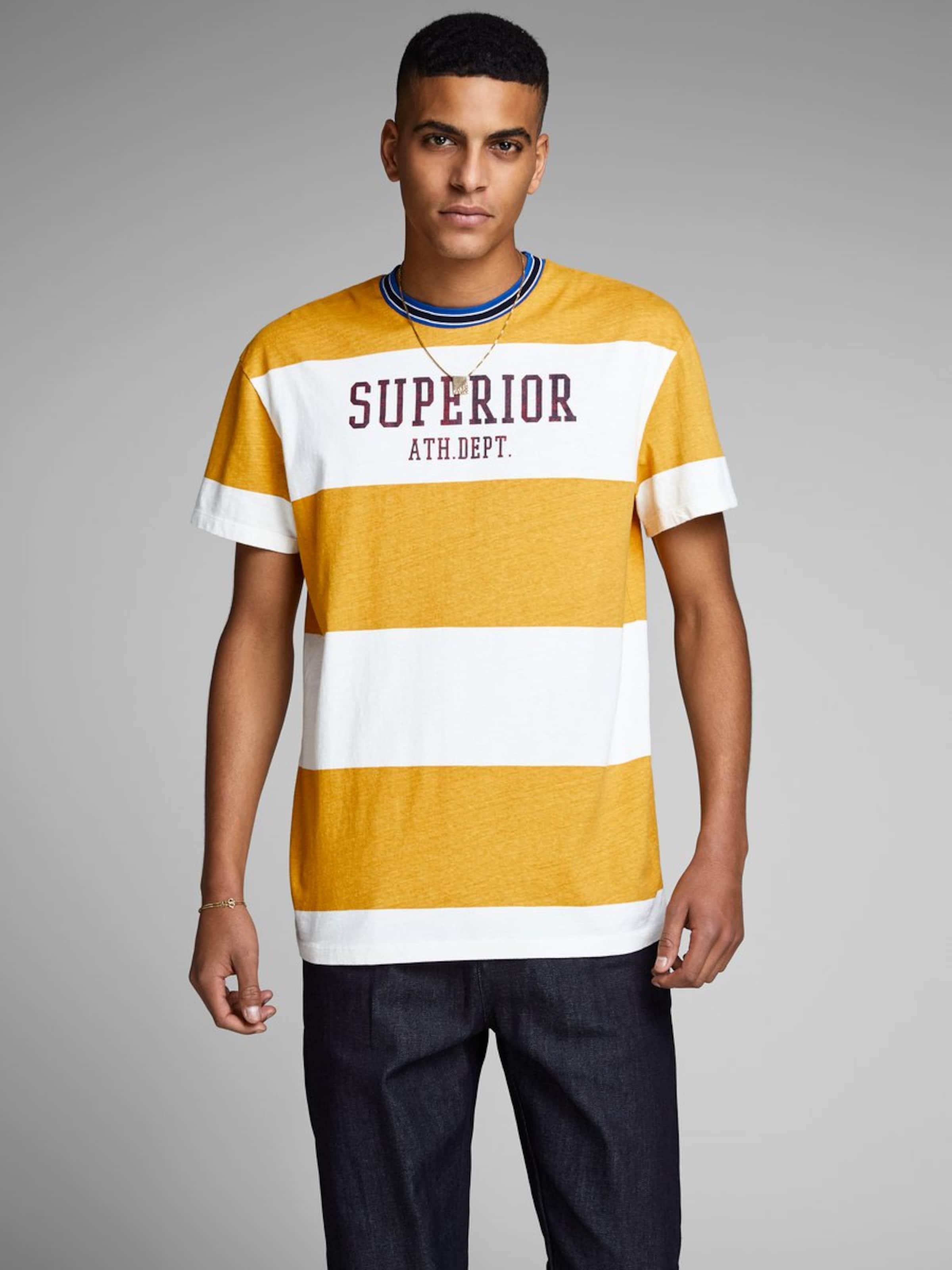 En BleuMarron shirt Miel Noir Jackamp; Jones T Blanc AjLq5ScR34