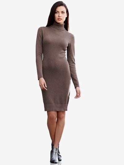 heine Pletena haljina u smeđa: Prednji pogled