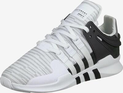 ADIDAS ORIGINALS Schuhe ' Equipment Support ADV ' in schwarz / weiß: Frontalansicht