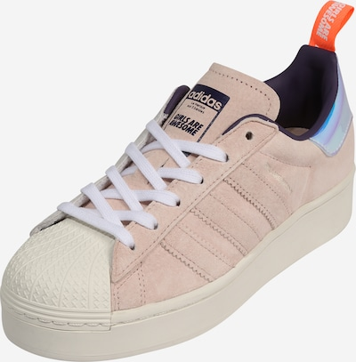 ADIDAS ORIGINALS Sneaker 'SUPERSTAR PLATEAU W' in mischfarben / rosa, Produktansicht