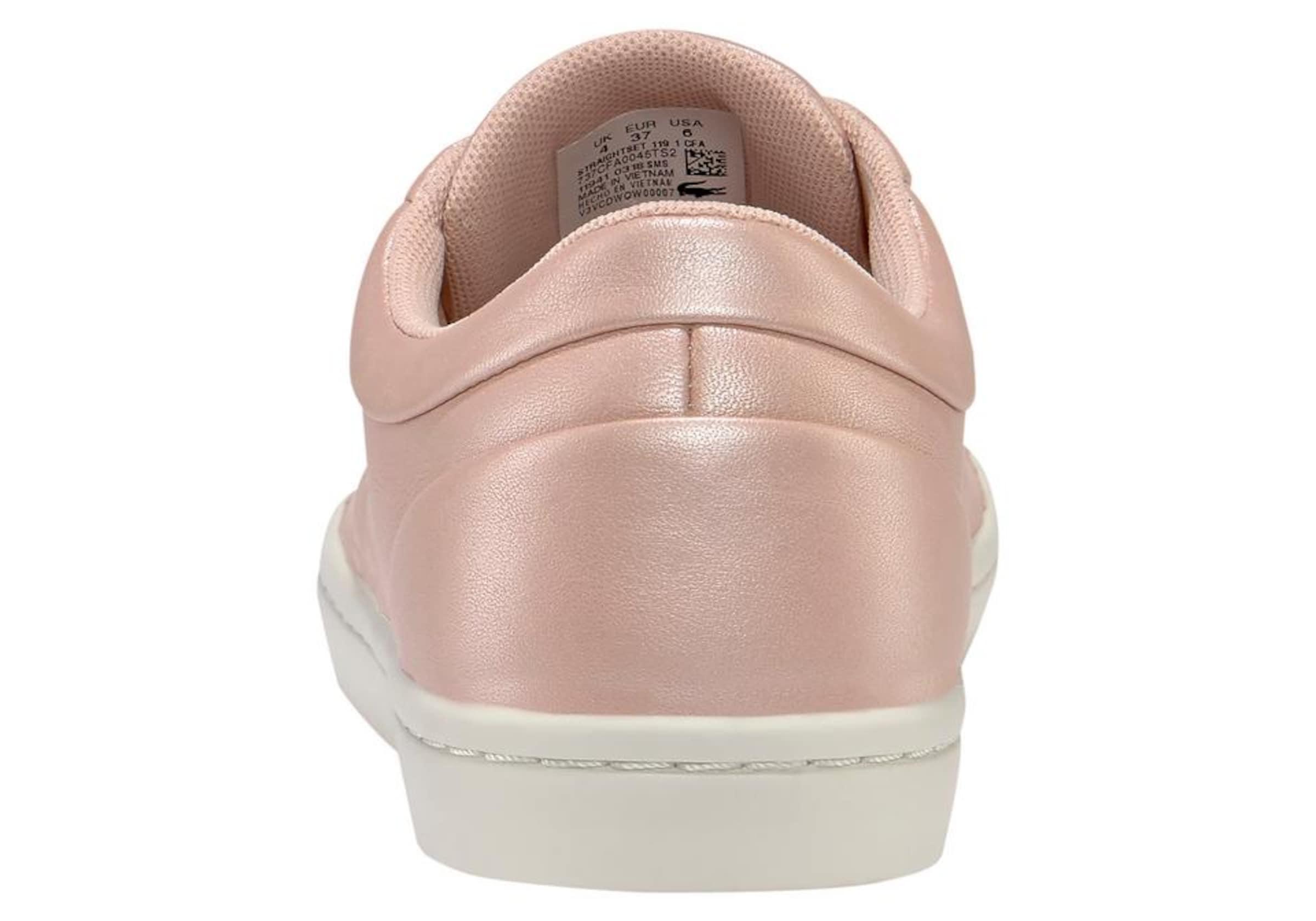 Cfa' 119 In Lacoste 'straightset 1 Sneaker Rosé 0w8nOkPX