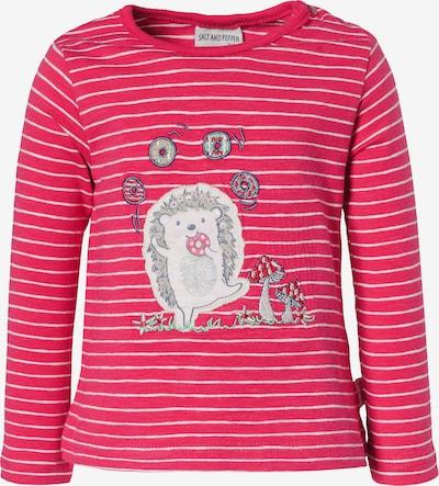 SALT AND PEPPER Shirt in rot / weiß, Produktansicht
