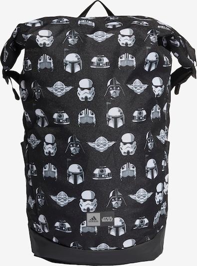 ADIDAS PERFORMANCE Rucksack in grau / schwarz / weiß, Produktansicht