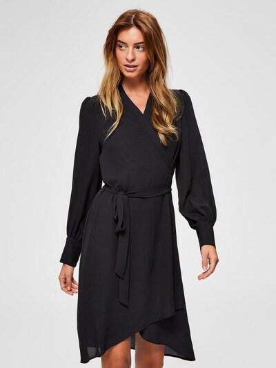 SELECTED FEMME Obleka | črna barva, Prikaz modela