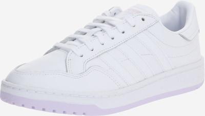 ADIDAS ORIGINALS Baskets basses en blanc, Vue avec produit