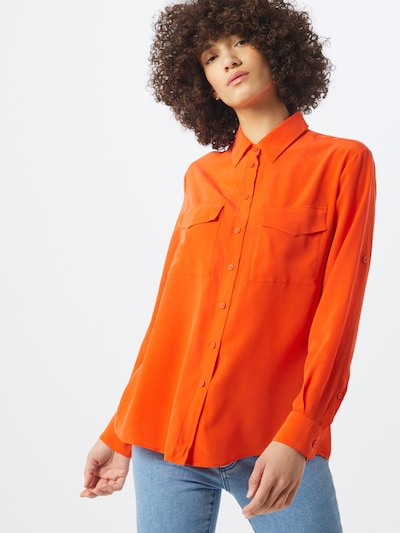 BOSS Bluse 'Civenti' in orange, Modelansicht