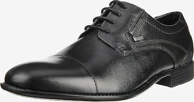 bugatti Buty sznurowane w kolorze czarnym, Podgląd produktu