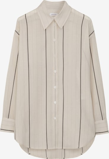 SEIDENSTICKER Bluza | črna / off-bela barva, Prikaz izdelka