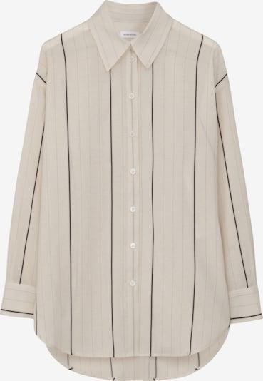 SEIDENSTICKER Blusa en gris / negro / offwhite, Vista del producto