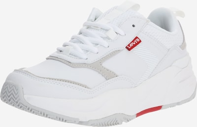 LEVI'S Sneaker 'WEST' in dunkelbeige / weiß, Produktansicht