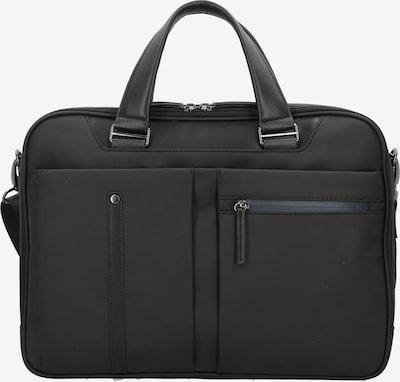 D&N Aktentasche 'Basic Line' 42cm in schwarz, Produktansicht