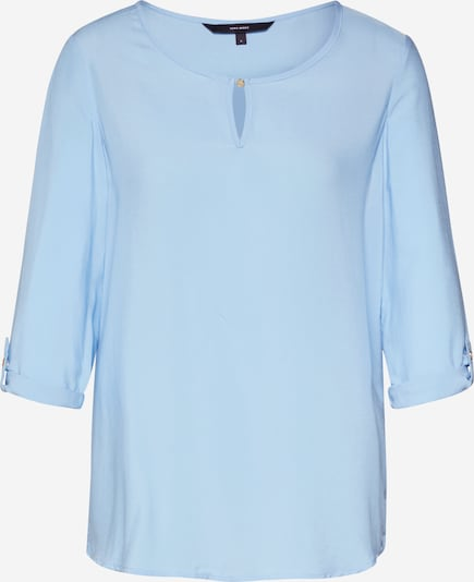 VERO MODA Blúzka 'VMBUCI 3/4 FOLD-UP TOP COLOR' - svetlomodrá, Produkt