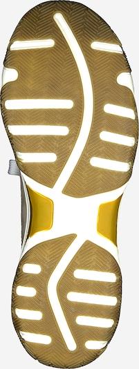 MARCO TOZZI Baskets basses en jaune foncé / greige / blanc: Vue de dessous