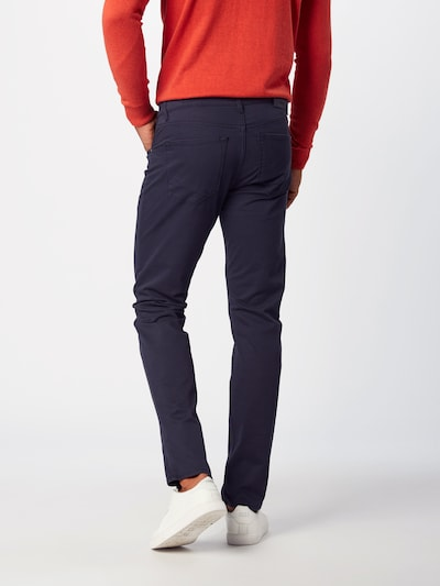 Kelnės 'Chuck' iš BRAX , spalva - tamsiai mėlyna: Vaizdas iš galinės pusės