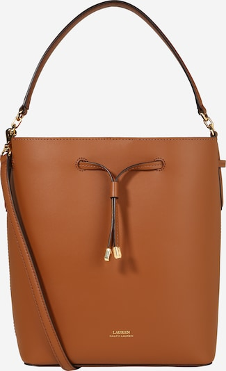 Lauren Ralph Lauren Pouch 'DEBBY' in Brown / Orange, Item view