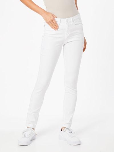 OPUS Hose 'Emily satin stripe ROS' in weiß, Modelansicht