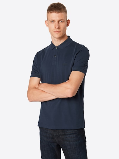 BOSS Shirt in de kleur Navy, Productweergave