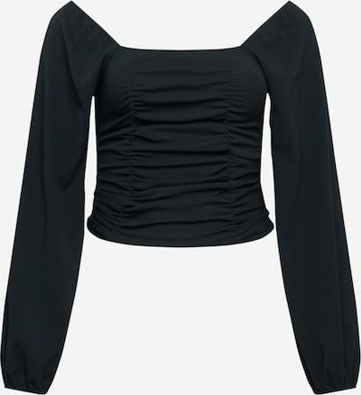 Missguided Plus Bluse in schwarz, Produktansicht