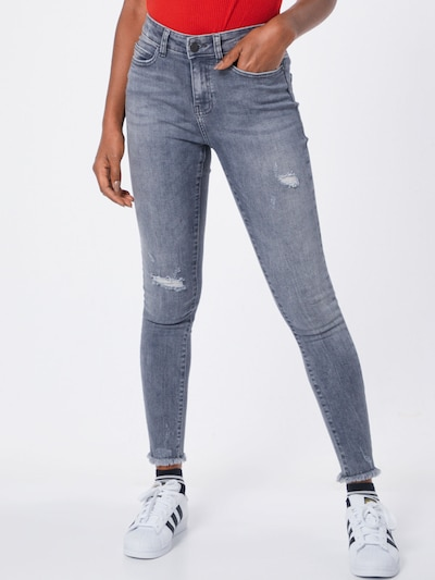 Noisy may Jeans in grau, Modelansicht