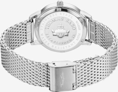 Thomas Sabo Uhr in silber: Draufsicht