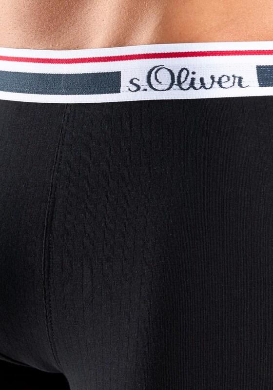 s.Oliver RED LABEL Hipster (2 Stück) in hochwertiger Rippoptik