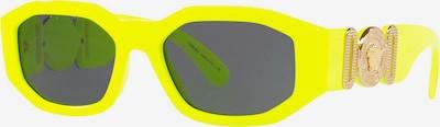 VERSACE Sonnenbrille 'SPRITZGUSS UNISEX SONNE' in gelb / schwarz, Produktansicht