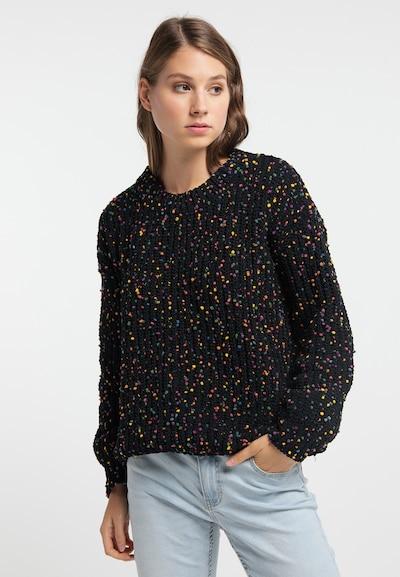 MYMO Pullover in mischfarben / schwarz, Modelansicht