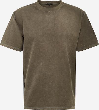 tigha T-Shirt 'Sulivan' in khaki / schwarzmeliert, Produktansicht
