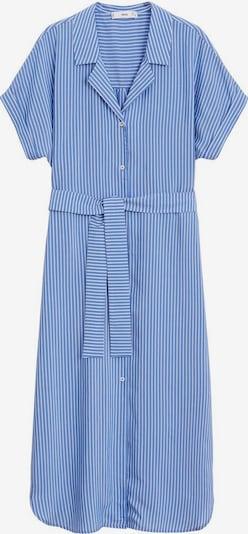 MANGO Kleid 'Dols' in royalblau / weiß, Produktansicht