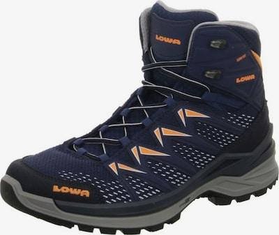 LOWA Boots 'Innox Pro GTX Mid' in de kleur Navy / Sinaasappel / Zwart, Productweergave