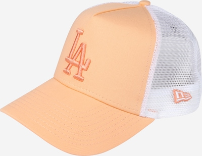 NEW ERA Cap 'ESSENTIAL TRUCKER' in apricot / weiß, Produktansicht