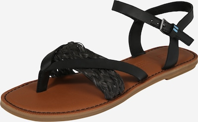 TOMS T-bar sandals 'LEXIE' in Black, Item view