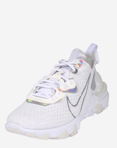 Nike Sportswear Zemie apavi 'W NIKE NSW REACT VISON ESS' pieejami pelēks / balts, Preces skats